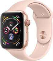 Apple Watch Series 4 GPS+ Cellular 40mm Aluminum Case with Sand Sport Band MTVG2