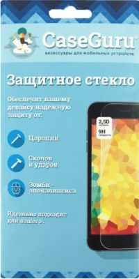Защитное стекло CaseGuru Meizu M3 Mini Full Screen Gold 0, 33мм